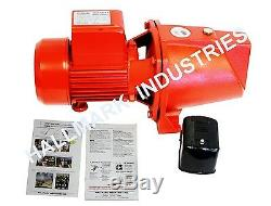 Shallow Well Jet Pump withPressure Switch 1/2HP 12.5GPM, heavy duty, 115/230V