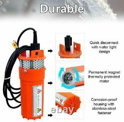 Solar Panel Water Pump System, Deep Well Submersible Pump+Backup Lifepo4 Battery
