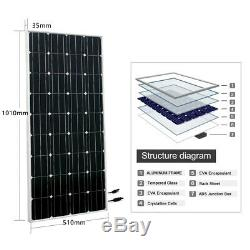 Solar Powered Water Pump Pond Kit With 100W 12V Solar Panel for Farm Watering