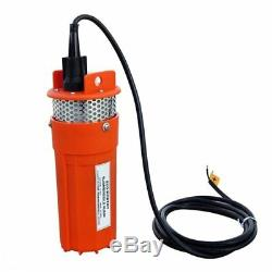 Stainless Strainer 12V DC Submersible Solar Well Pump Water Pump, Solar Battery
