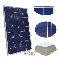 Stainless Submersible Deep Well Bore Hole Water Pump With Solar Panel Kit for Home