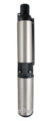 Star Water Systems RWS200 Submersible WELL PUMP 1/2 HP 115 Volt