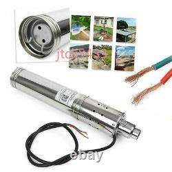 Submersible Brushless Solar Water Pump 3m³/H 120M Head max Deep Well Pump DC24V