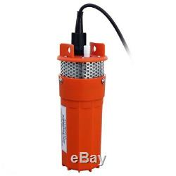 Submersible DC12V Deep Well Water Pump Solar/Battery Powered Solar Pump Watering