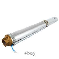 Submersible Pump 4 Deep Well Pump 1 HP 220V 23 GPM 236ft MAX US Stock