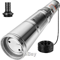Submersible Pump, Deep Well, 1/2HP, 220V, 25.5GPM, 4