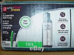 Utilitech 0.5-HP UT200 Stainless Steel Submersible Well Pump 00313836