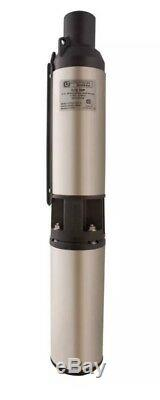 Utilitech 4in Submersible Well PUmp 230V 1/2 Horse Power 0313837 NEW