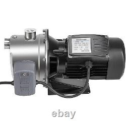 VEVOR 0.75HP 18.5GPM Shallow Well Jet Pump withPressure Switch Farms 131.2 ft