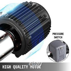 VEVOR 0.75HP 18.5GPM Shallow Well Jet Pump withPressure Switch Stainless 3/4 HP