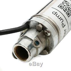 Water Pump 220V 370W 50mm Submersible Bore 0.5 HP Deep Well 220V 180ft 8GPM