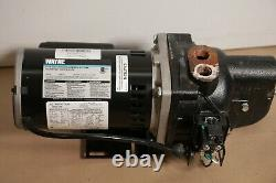 Wayne Water 3/4 HP Cast Iron Shallow Well Jet Pump SWS75 120/240 YCB139 Used