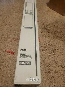 ZOELLER USA 1452-0005 1HP 230V 12 GPM STAINLESS STEEL SUBMERSIBLE WELL PUMP new