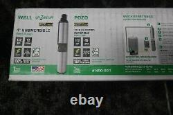 Zoeller 1/2 HP 1450-0011 Stainless Steel 4 Submersible Water Well Pump