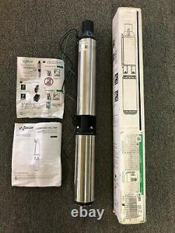 Zoeller 1-HP Stainless Steel Submersible Well Pump Used Condition